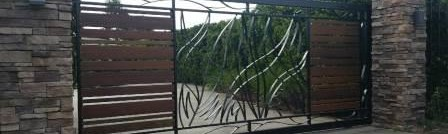 Steel gate fabrication - onsite welding brisbane