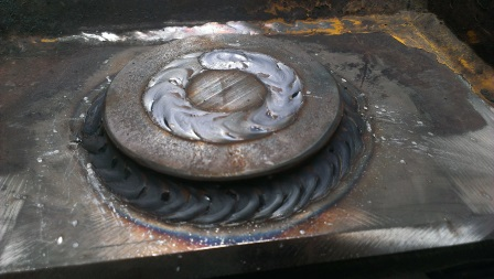 Reinforcing Boss Jockey Wheel Topside Complete