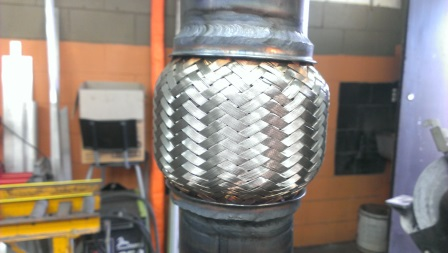 Tig Welded Exhaust Flex