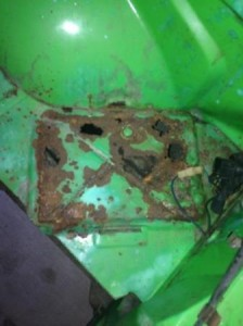 A9X Torana Enginebay Rust Repairs
