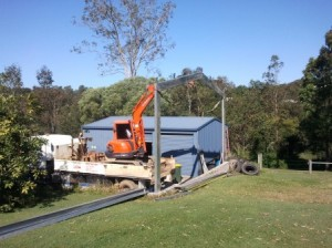 Onsite Shed Fabrication