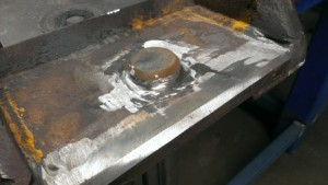 Preweld Jockey Wheel Shaft Topside